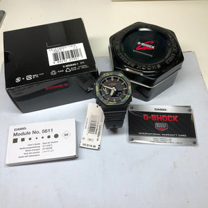 Casio G-Shock GA2100SU-1A Camo Black Carbon GA-2100SU-1A Casioak Watch