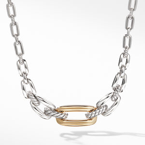 Wellesley Link Short Necklace with 18K Gold