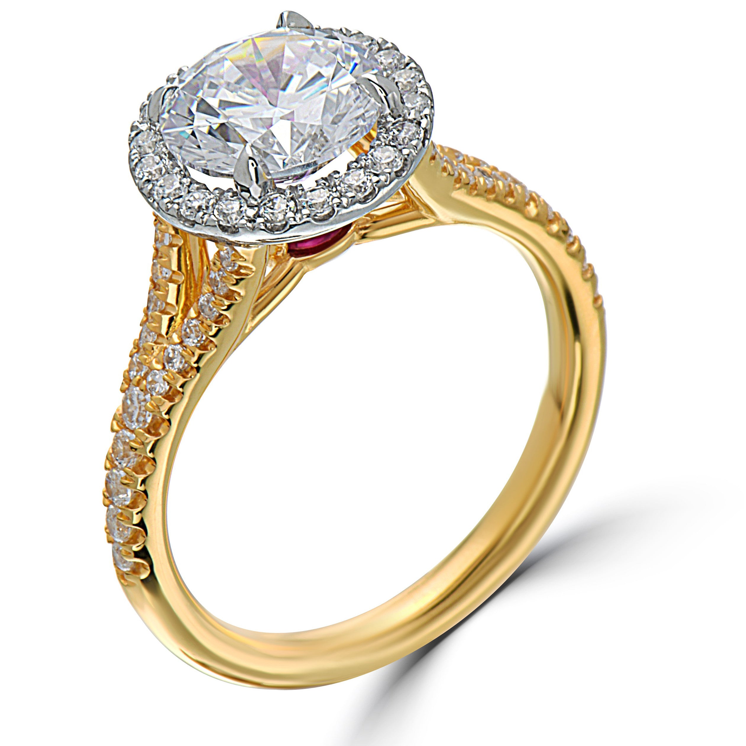 with engagement pin weddingbee diamonds baguettes round your circular show rings off