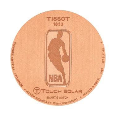 Tissot Mens 45MM T-Touch Expert Solar NBA Special Edition Watch T0914204720700