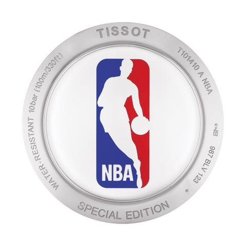 Tissot PR100 NBA Special Edition Silver Dial Quartz Watch T1014101103101 back