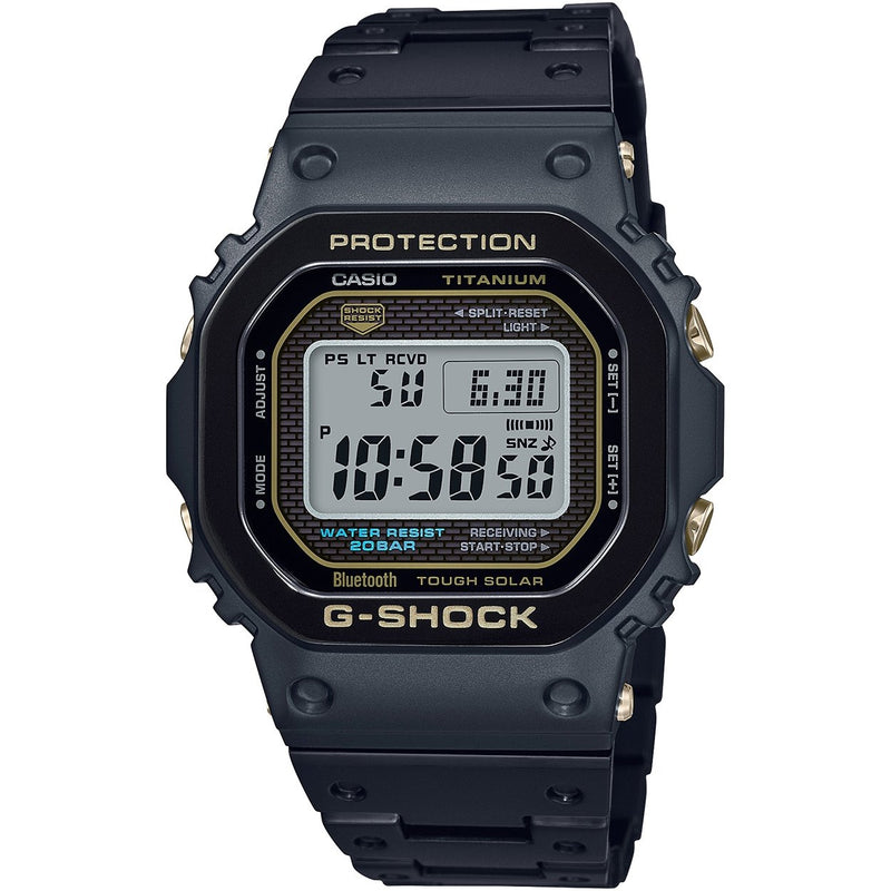 CASIO G-SHOCK 5600 Titanium Metal Square Watch 2019 GMW-B5000TB-1 Limited