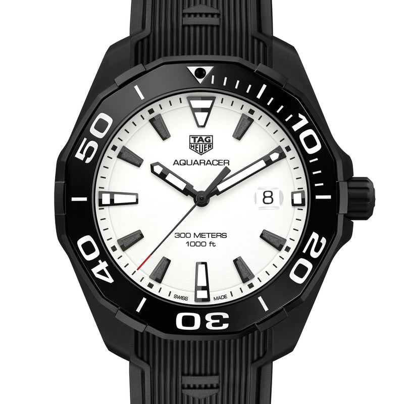 TAG Heuer Aquaracer 300M Nightdiver Watch WAY108A.FT6141