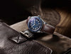 TAG Heuer Autavia Isograph Automatic Blue Watch Leather