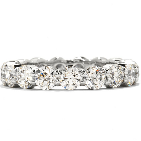 Hearts on Fire Multiplicity Single Row Diamond Eternity Band Platinum