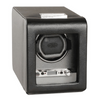 Wolf Designs Viceroy 2.7 Single Watch Winder Black Leather
