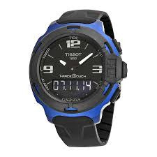 Tissot T-Race Touch Aluminum Quartz Blue Black Watch