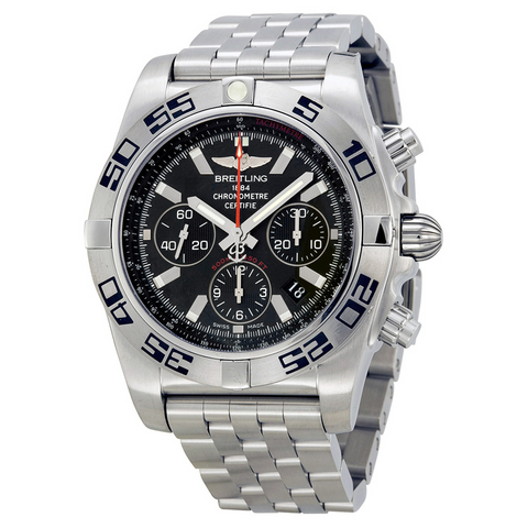 Breitling Chronomat 44 Flying Fish Chronograph Automatic Watch Boxes Papers Warranty AB011610