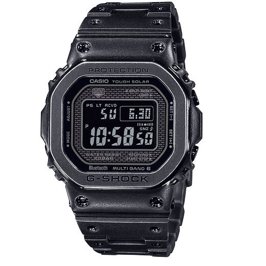 CASIO G-SHOCK GMW-B5000V-1 Aged IP Metal Square Watch Steel 2019 Limited