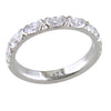 Marquise Diamond Custom Platinum Wedding Band 3/4 Carats