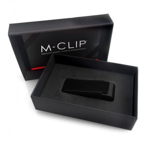 Red Anodized Money Clip by M-Clip