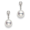 Mikimoto Classic Drop Earrings 8mm Akoya PEA1031DW