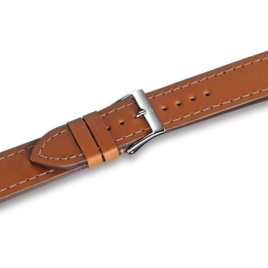 Swiss Army 40MM Alliance Black Dial Tan Brown Leather Strap Watch 241475