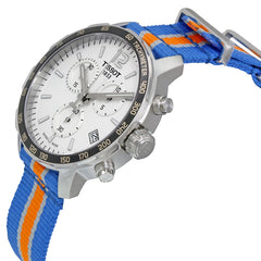 Tissot New York Knicks Quickster Quartz 42mm Blue Orange Watch T0954171703706 basketball