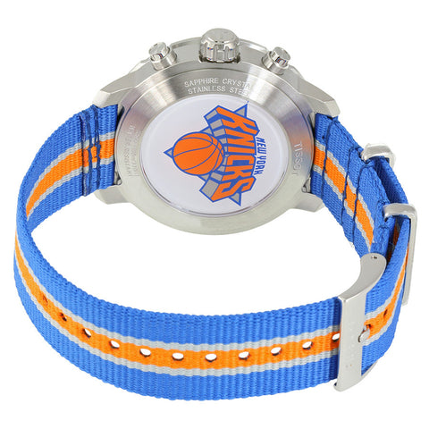 Tissot New York Knicks Quickster Quartz 42mm Blue Orange Watch T0954171703706 nagi