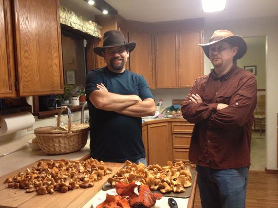 Chanterelles Shazam: A base mixture for dry saute'ing Chanterelle mushrooms