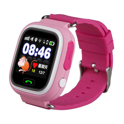 GPS Q90 Watch Touch Screen WIFI Positioning SOS Call Location Finder Device Anti Lost Reminder