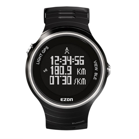 GPS Running Jogging  4.0 Waterproof Men's Sports Watch Bluetooth  for Android, IOS