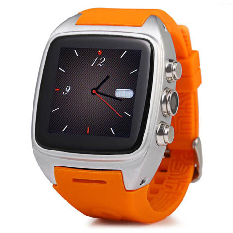 M7 Android 4.4 MTK6572 Dual Core Waterproof GPS Wristwatch
