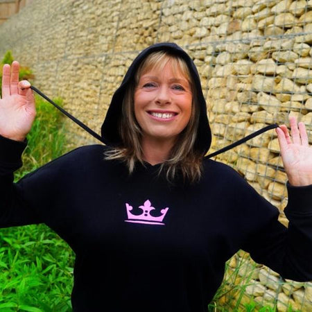 Embroidered Queen's Crown Kid's Hoodie - Morgz Merch