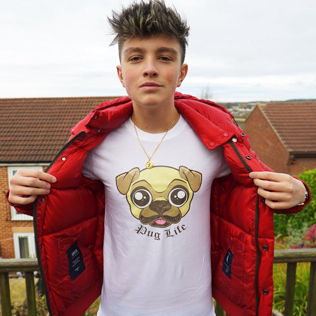 Pug Life T Shirt Morgz Merch