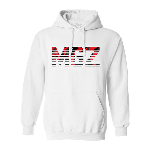 Limited Edition Red Camo MGZ x 4 MILLI Hoodie - Morgz Merch