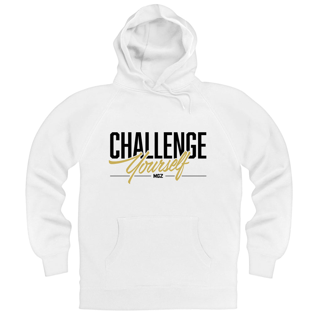 Challenge Yourself Hoodie White