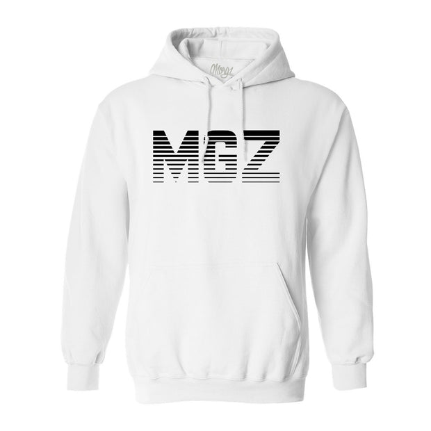 MGZ Hoodie White - Morgz Merch