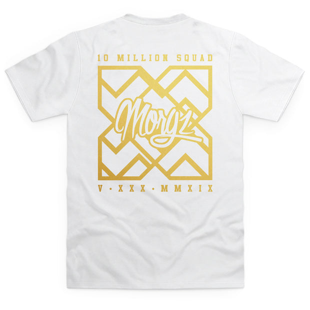 Special Edition Gold 10 Million White T-Shirt