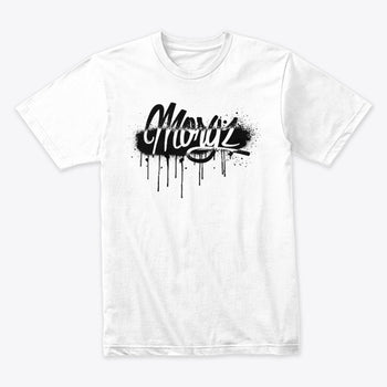 Limited Edition Morgz Graffiti T-Shirt White
