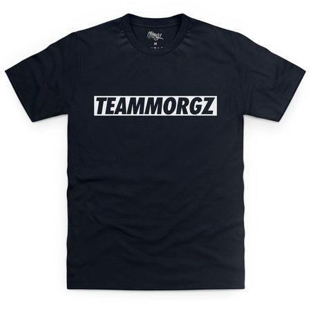 TeamMorgz T-Shirt Black - Morgz Merch