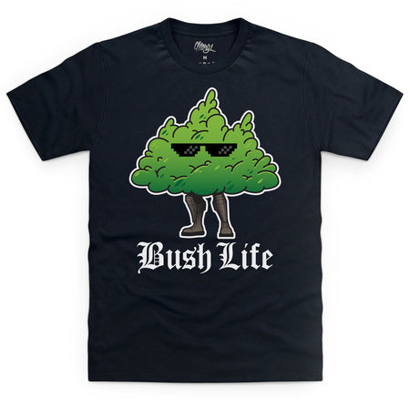 Bush Life Black T-Shirt - Morgz Merch