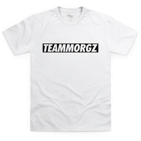 TeamMorgz T-Shirt White - Morgz Merch