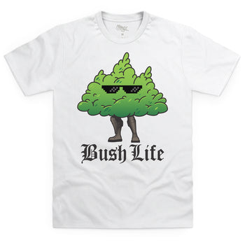 Bush Life White T-Shirt - Morgz Merch