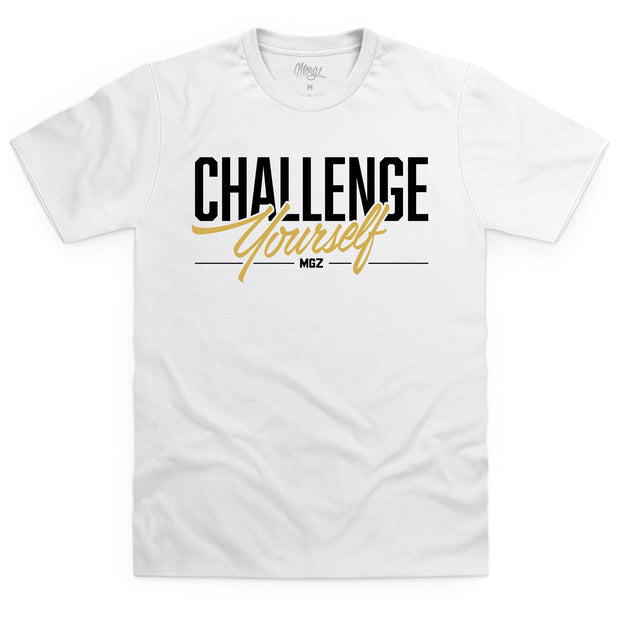 Challenge Yourself T-Shirt White
