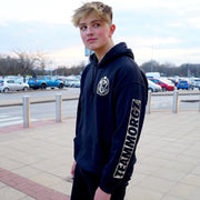 Metallic Silver '3 Million' Hoodie - Morgz Merch