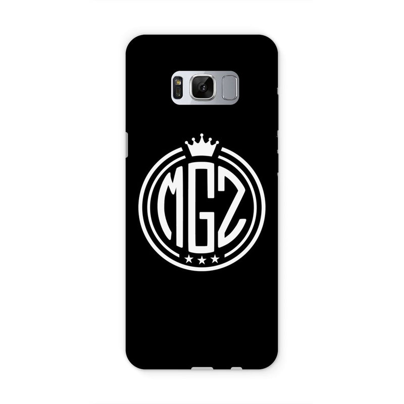 MGZ Crest Logo Black Phone Case - Morgz Merch