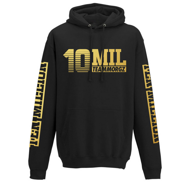 Special Edition Gold 10 Million Black Hoodie