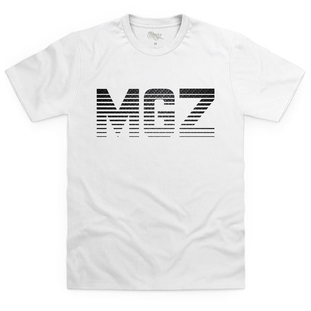 Limited Edition White Carbon Fibre MGZ T-Shirt - Morgz Merch