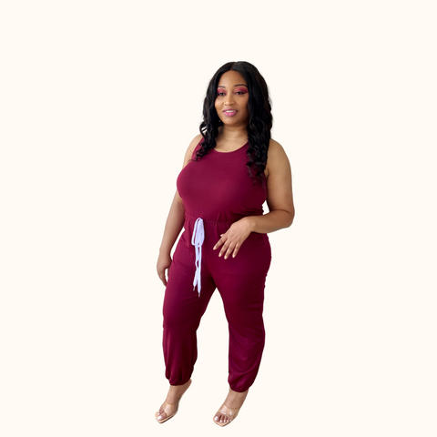 I Get Around Jogger | Plus Size Jogger Jumpsuit