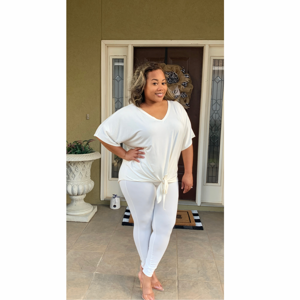 Good Vibez Set | Plus Size Rayon Top Set