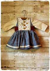 Custom order from Olive + Peony children's clothing boutique