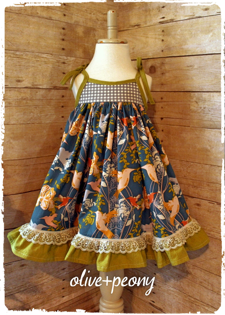 Hovering Hummingbirds Sundress