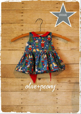 Nutcracker Baby Dress
