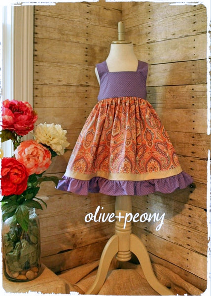 Paisley for Days Dress