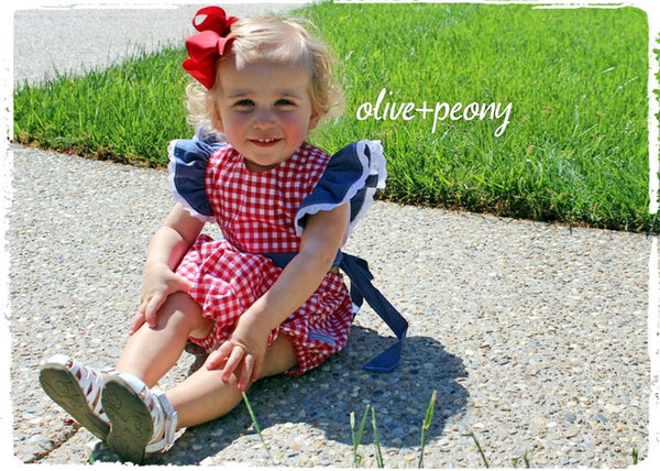 Picnic-Perfect Bubble Romper