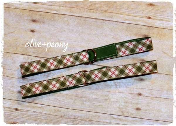 Boys' Holiday Belts