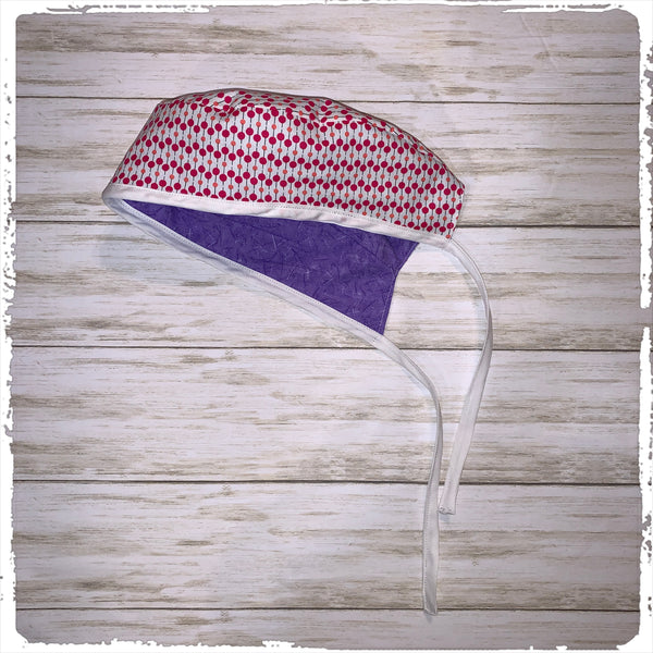 Reversible Fabric Scrub Cap