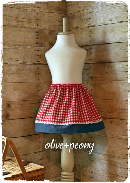 Picnic-Perfect Skirt