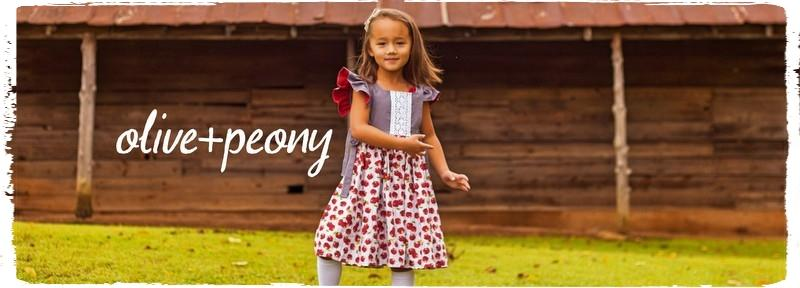 Shop Olive + Peony children's clothing boutique for girls